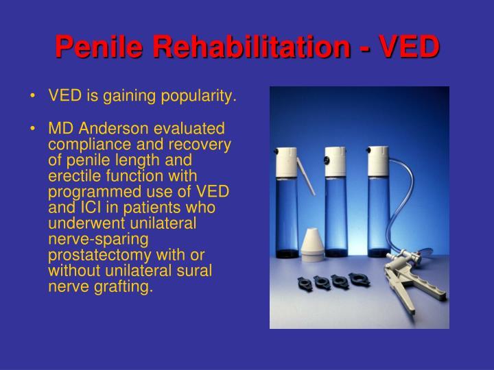 Penile Rehabilitation - VED