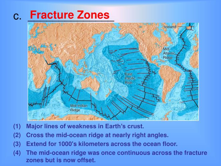 Ppt Seafloor Spreading And Continental Drift Powerpoint