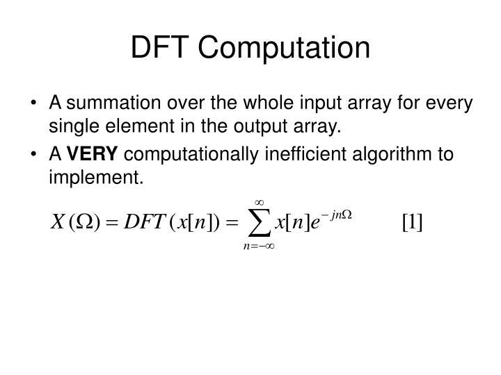 DFT Computation
