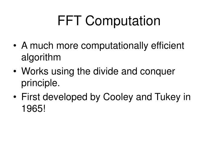 FFT Computation