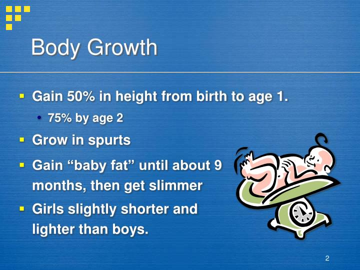 Body growth