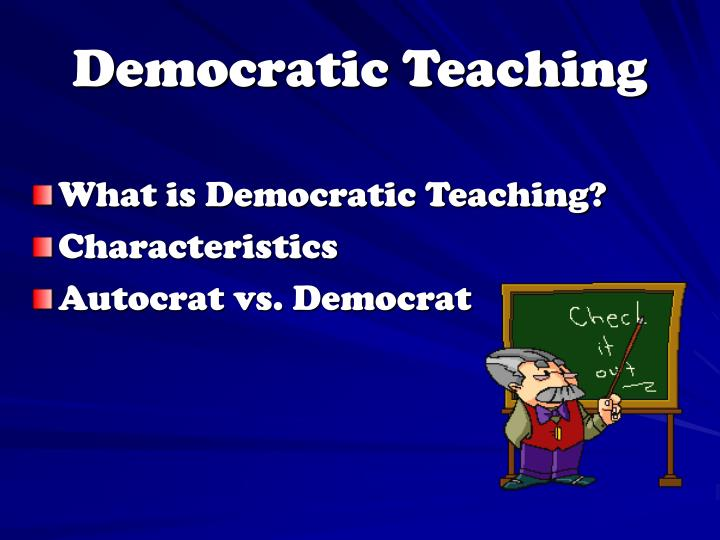 Democratic Teaching