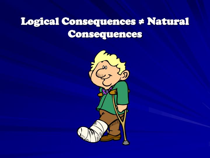 Logical Consequences ≠ Natural Consequences