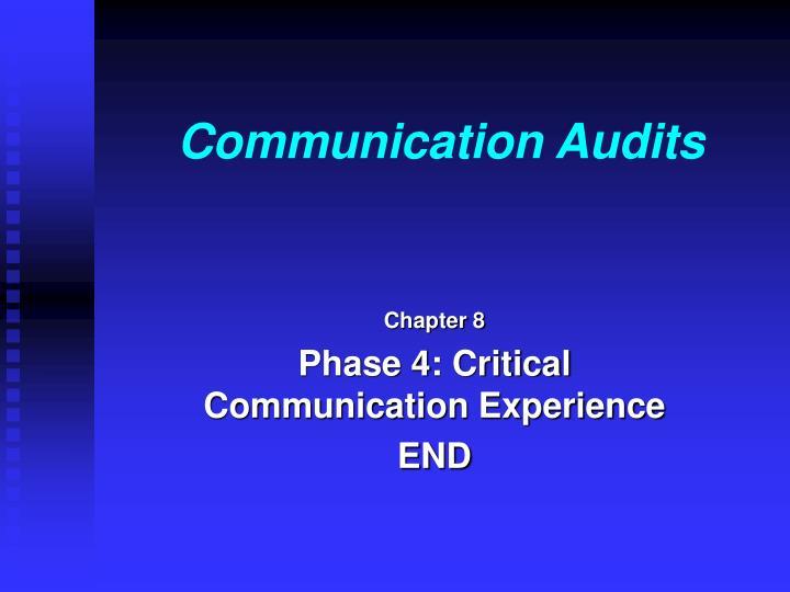 Communication Audits