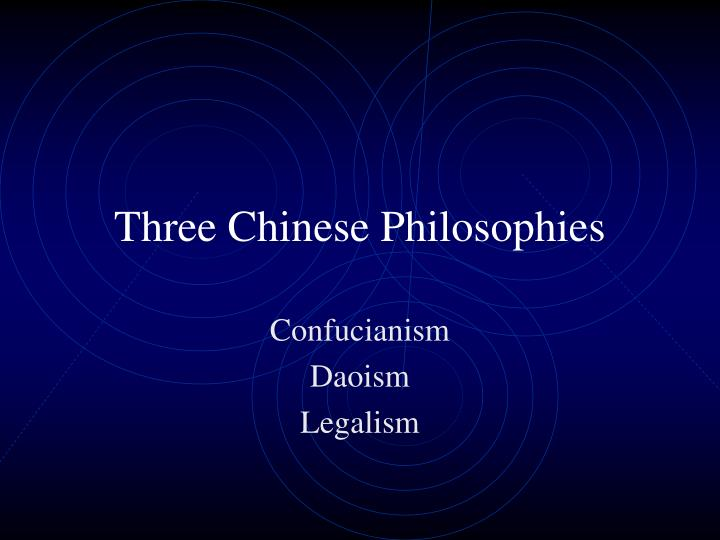 confucianism and daoism 2 essay Buddhism, taoism, confucianism comparison essay there are many  similarities and differences between the three ways of life we have been studying  for the.