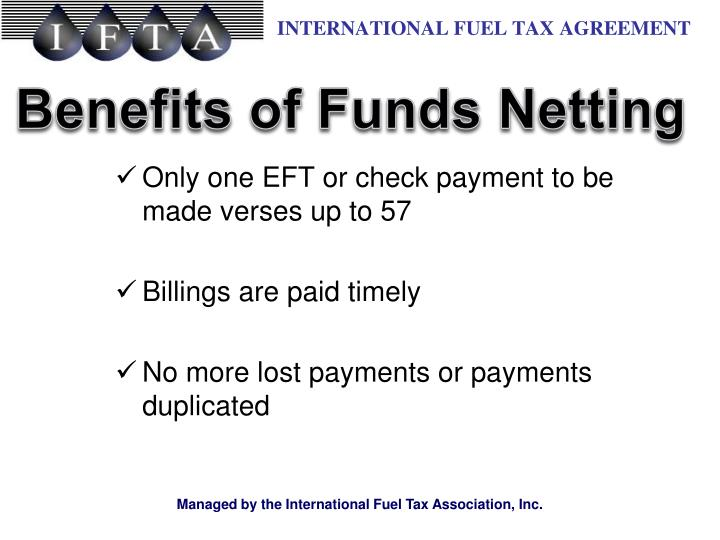 Benefits of Funds Netting