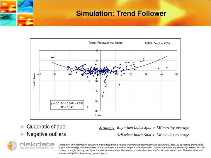 Simulation: Trend Follower