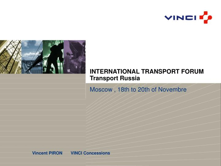 International transport forum transport russia