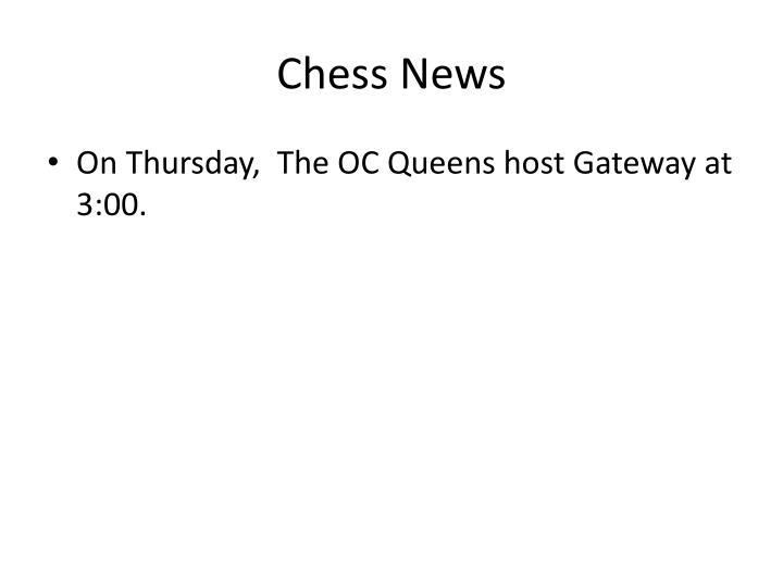 Chess News