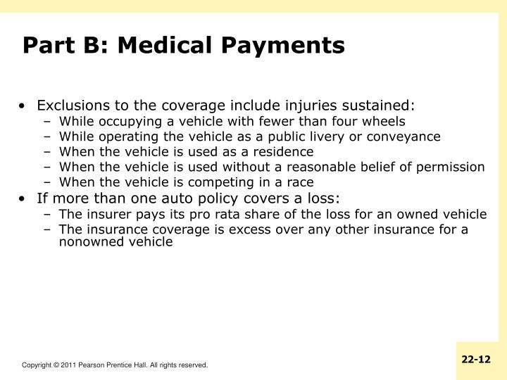 Part B: Medical Payments