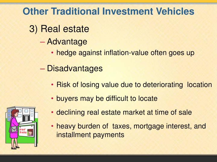 Other Traditional Investment Vehicles