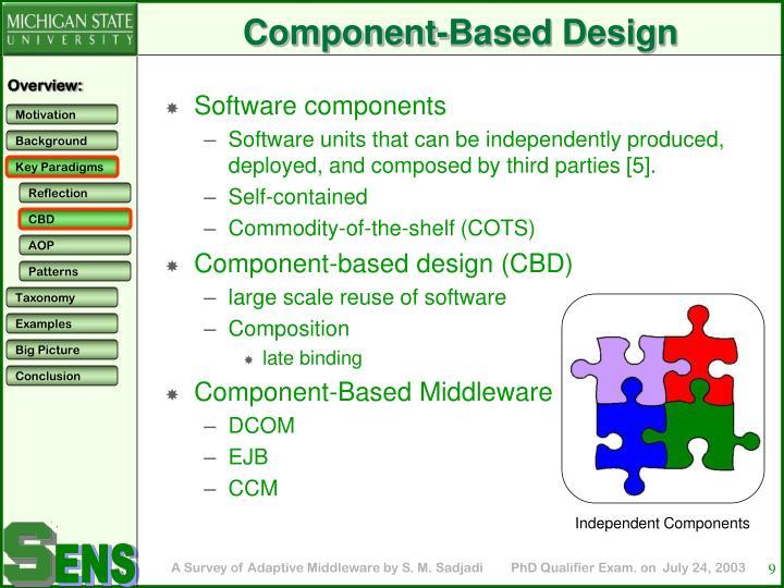 Component-Based Design