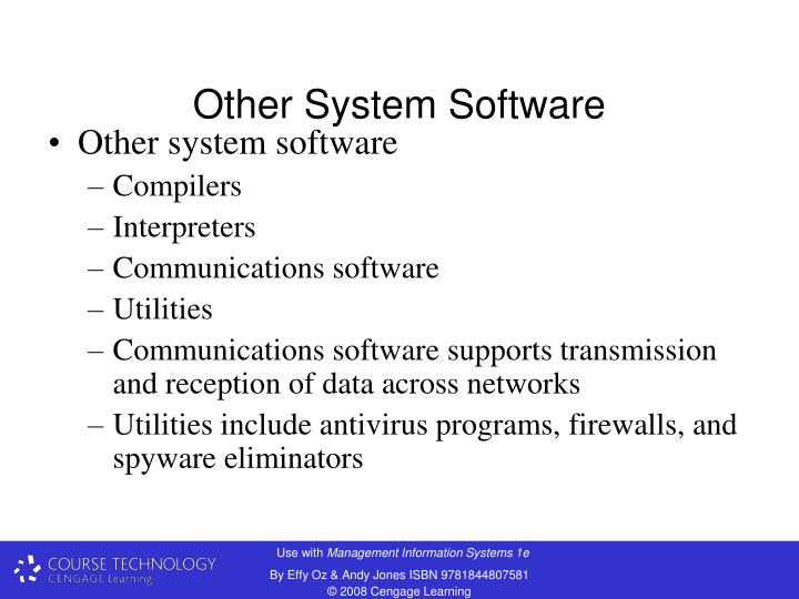 Other System Software