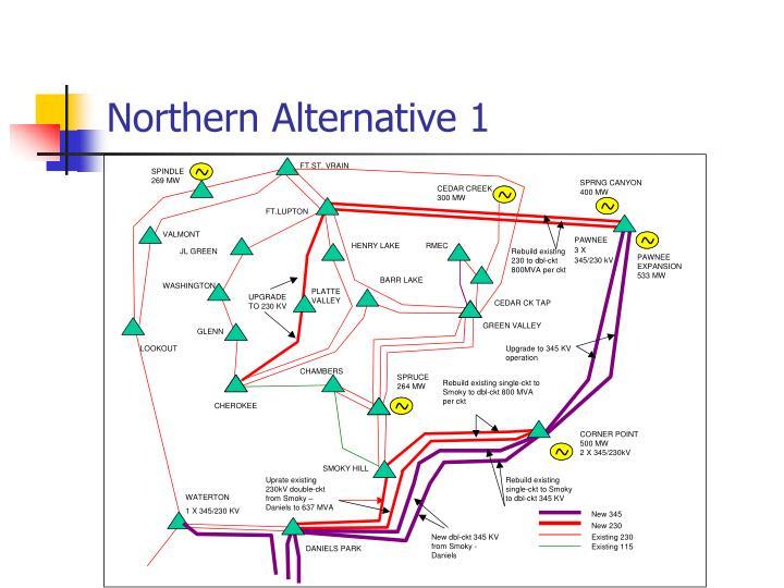 Northern Alternative 1