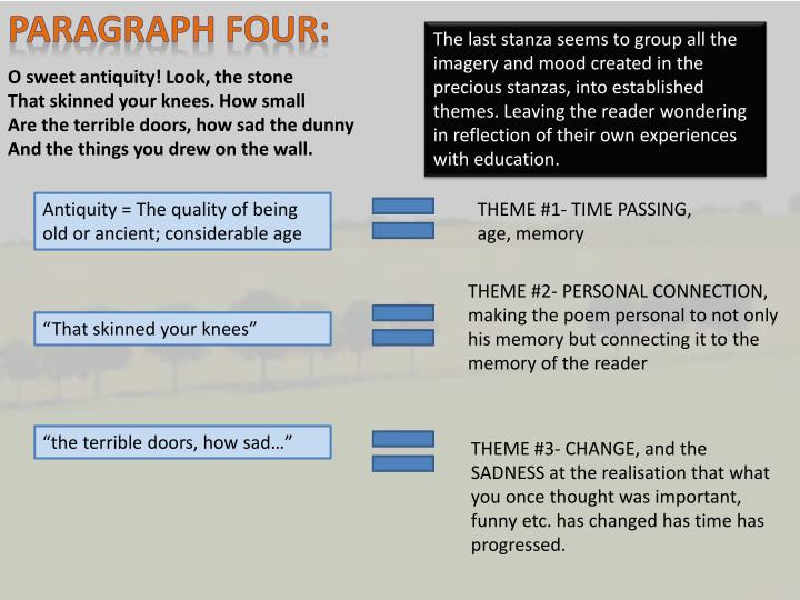 PARAGRAPH FOUR: