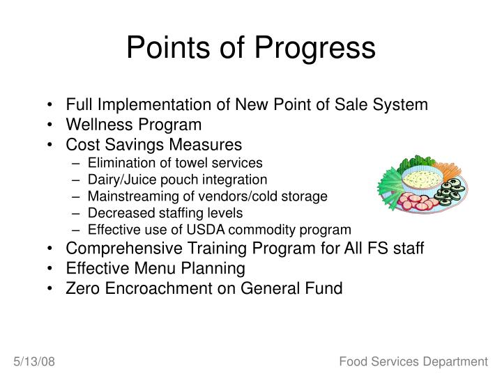 Points of Progress