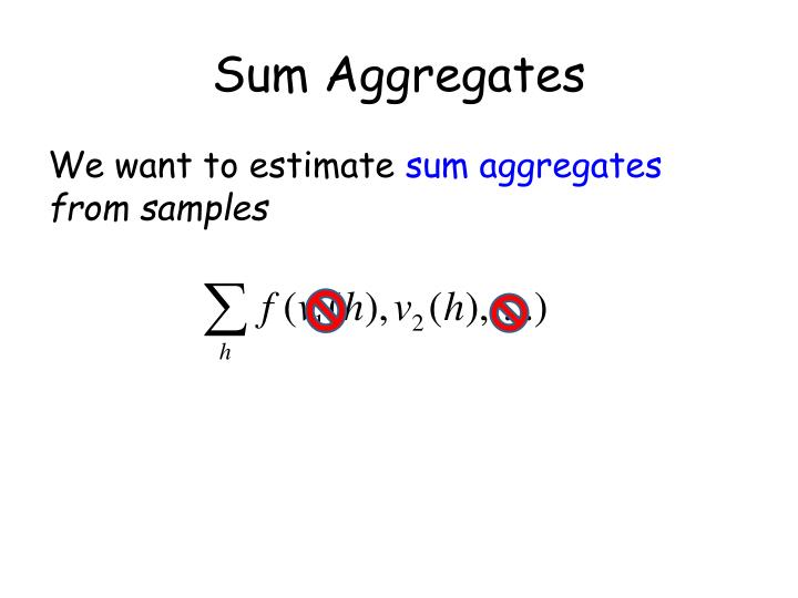 Sum Aggregates