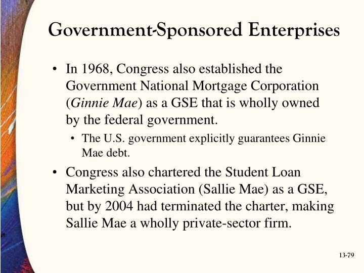 Government-Sponsored Enterprises