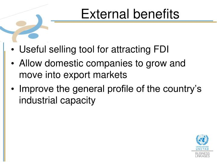 External benefits