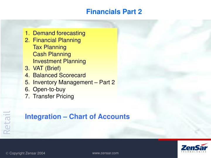 Financials Part 2