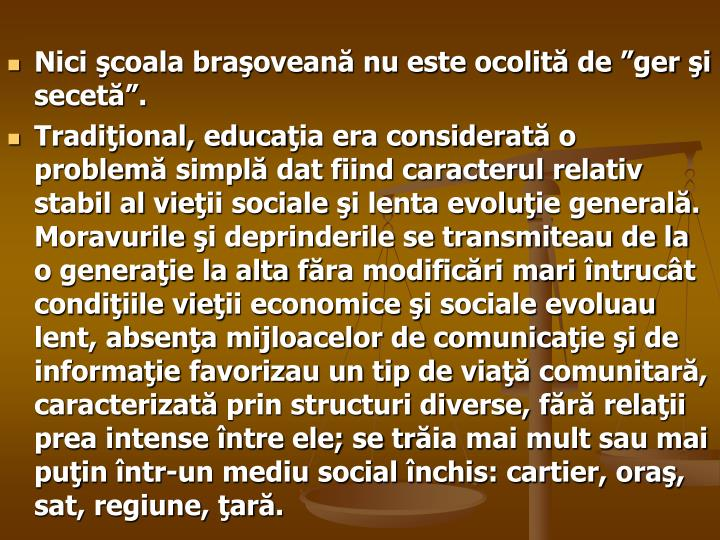 """Nici şcoala braşoveană nu este ocolită de """"ger şi secetă""""."""