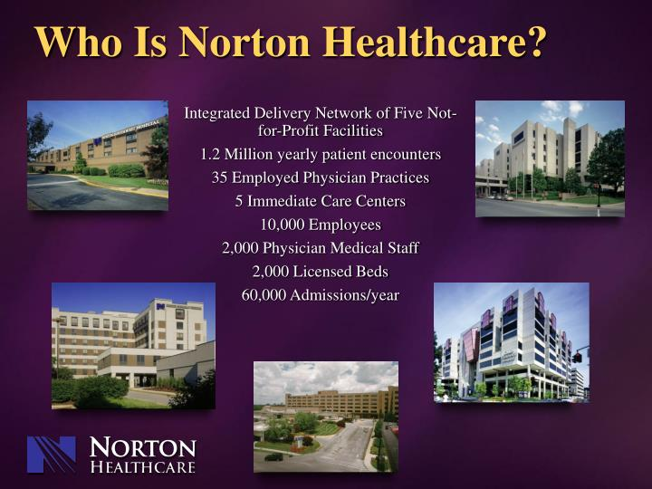 Who is norton healthcare