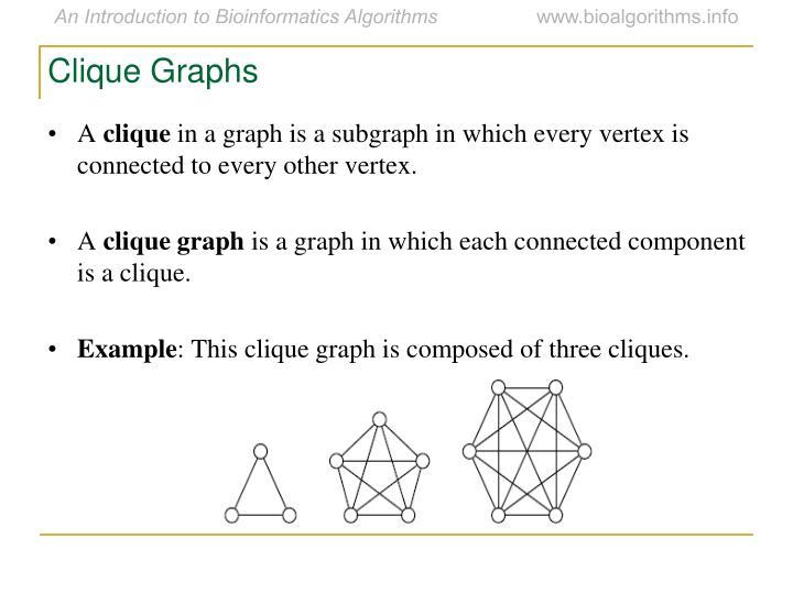 Clique Graphs