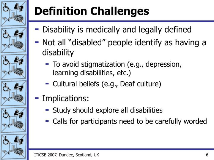 Definition Challenges