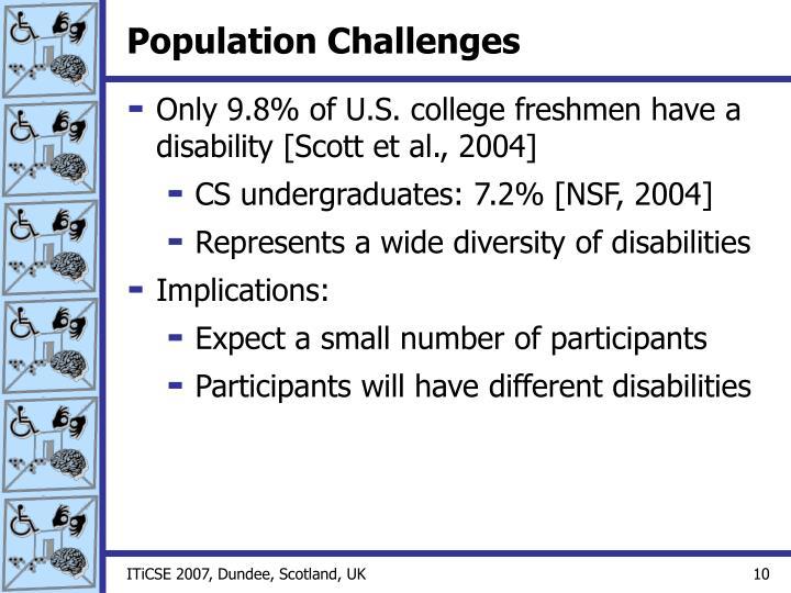 Population Challenges