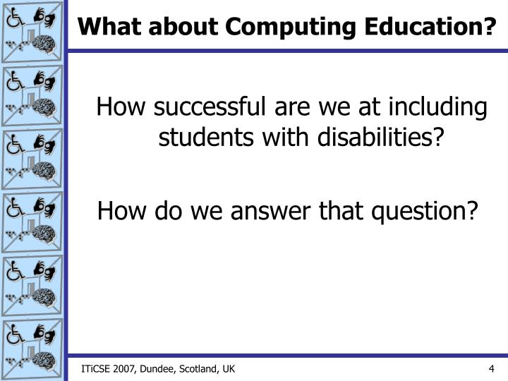 What about Computing Education?