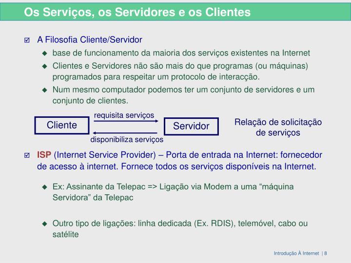 requisita serviços