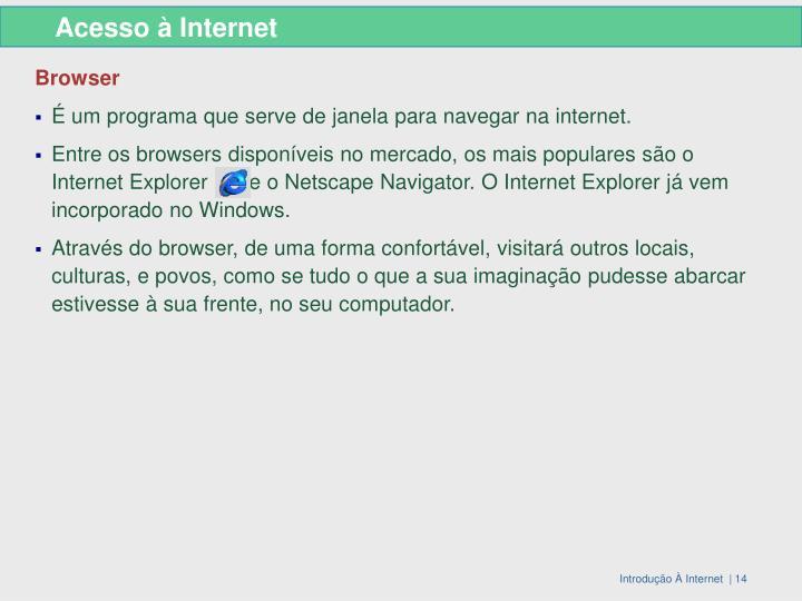 Acesso à Internet