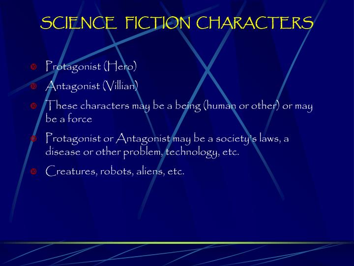 SCIENCE   FICTION  CHARACTERS