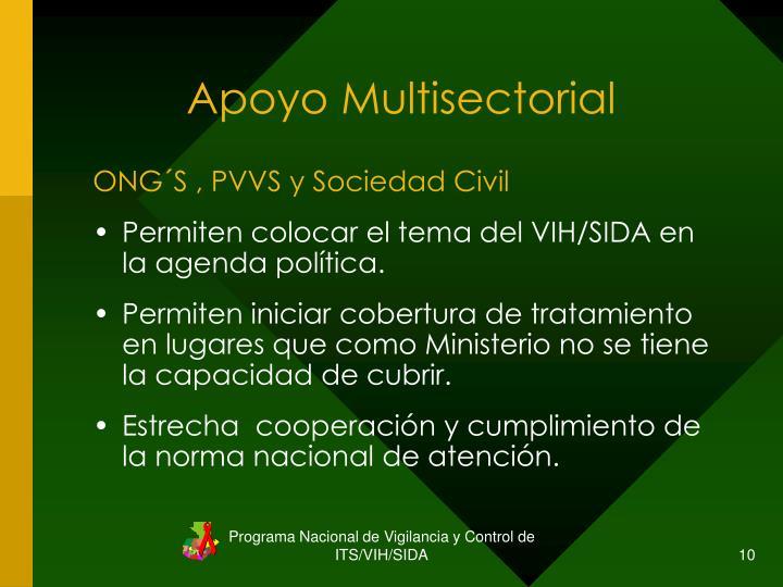 Apoyo Multisectorial
