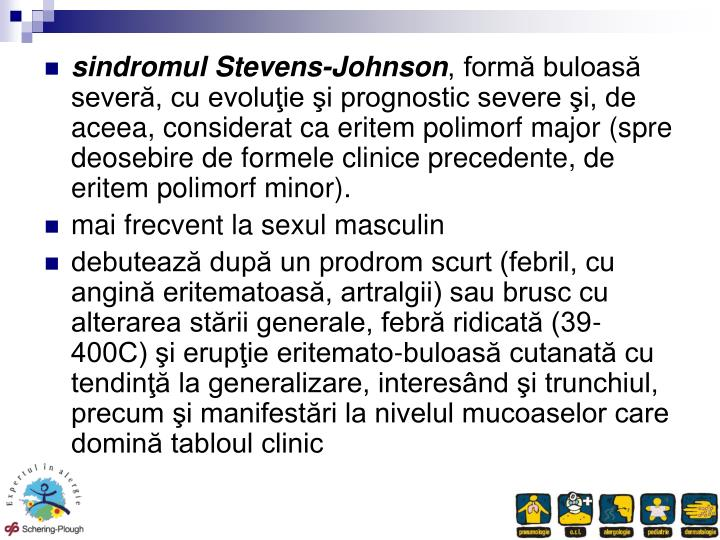 sindromul Stevens-Johnson