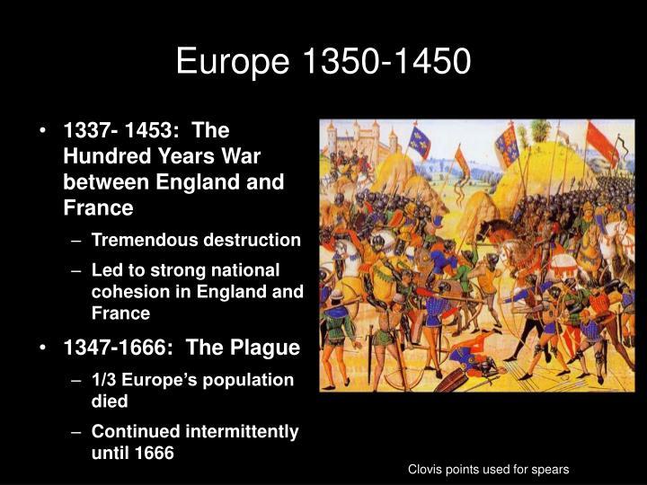 Europe 1350-1450