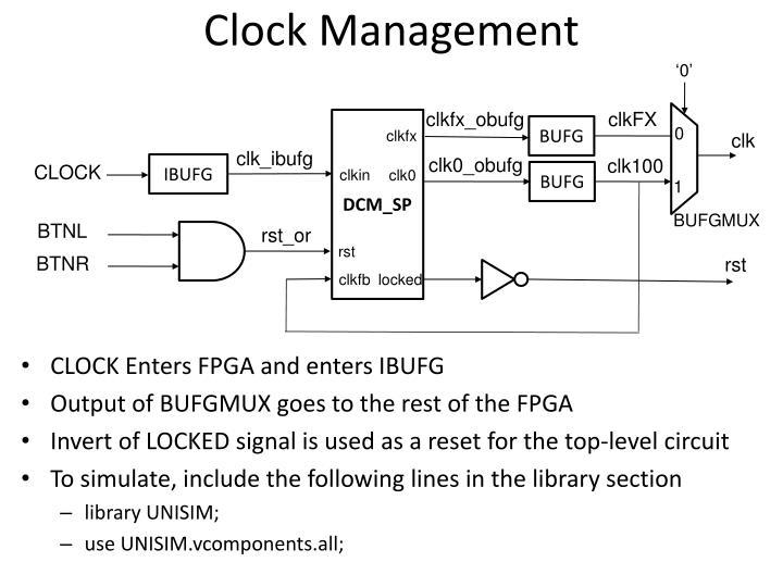 Clock Management