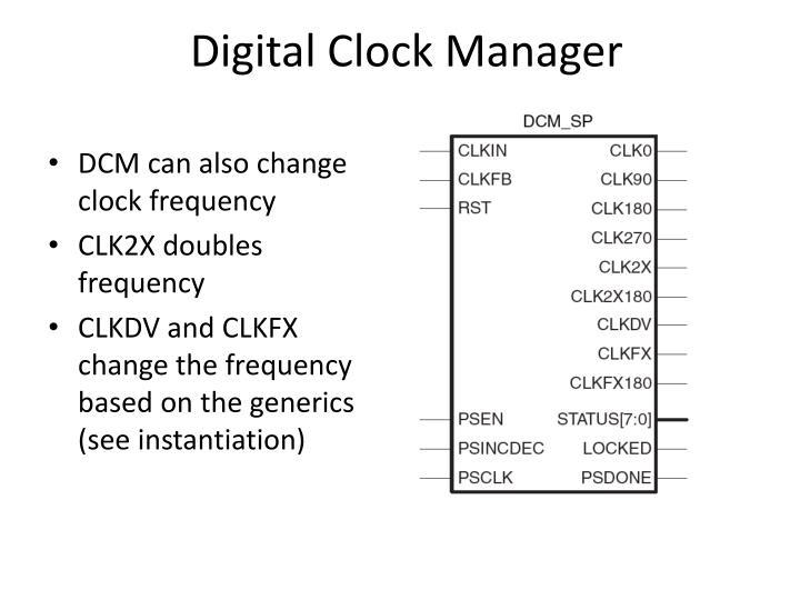 Digital Clock Manager