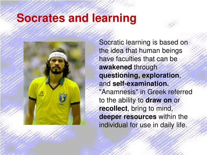 Socrates and learning
