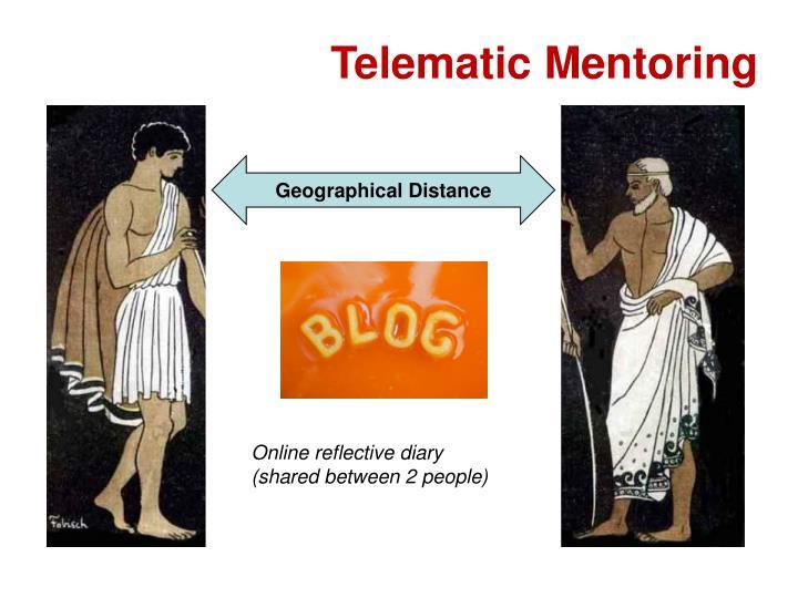 Telematic Mentoring