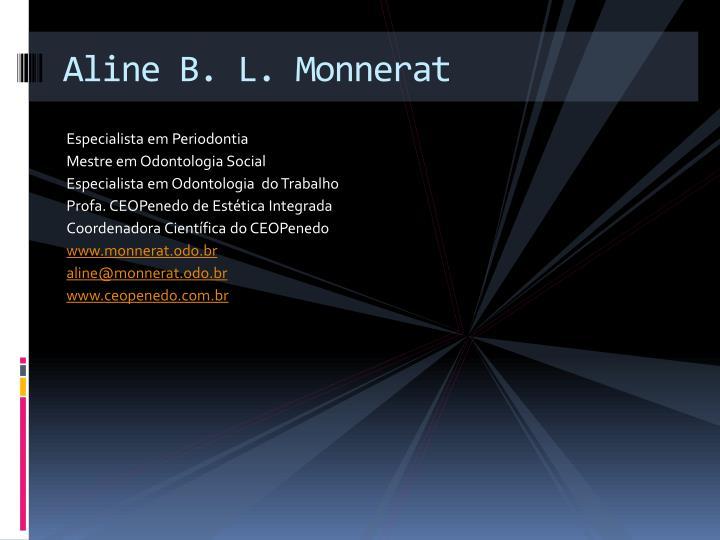Aline B. L. Monnerat