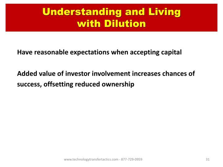 Understanding and Living