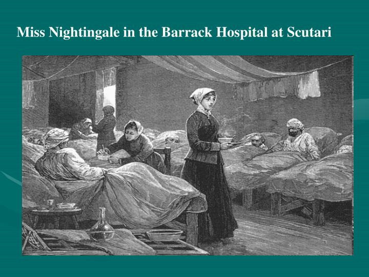 Miss Nightingale in the Barrack Hospital at Scutari