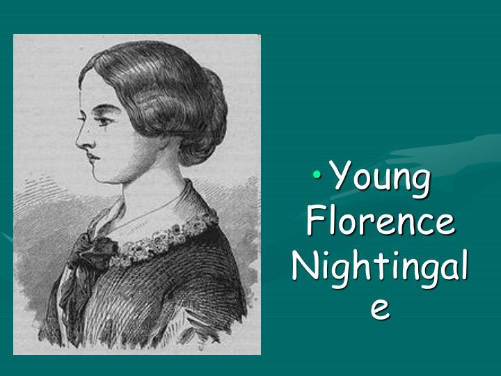Young Florence Nightingale
