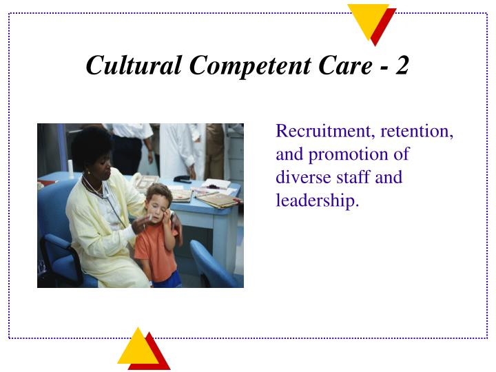 Cultural Competent Care - 2