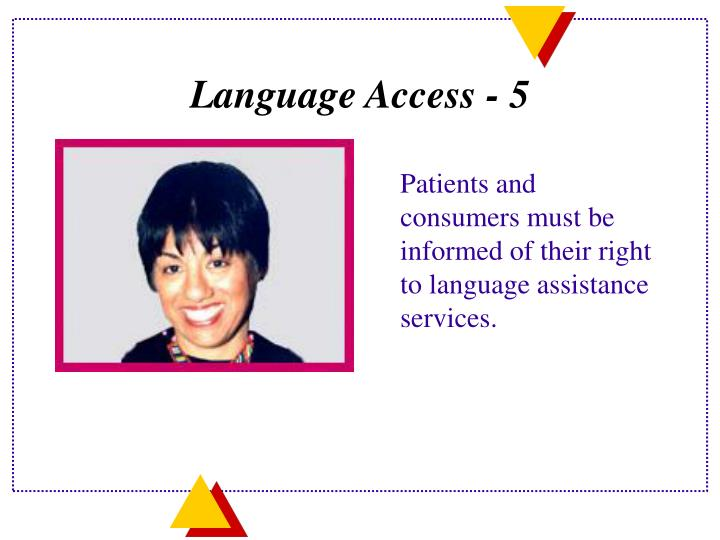 Language Access - 5