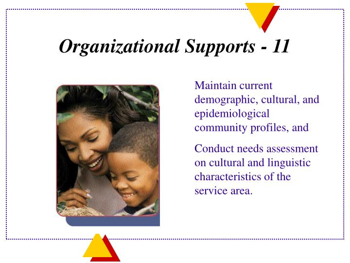 Organizational Supports - 11