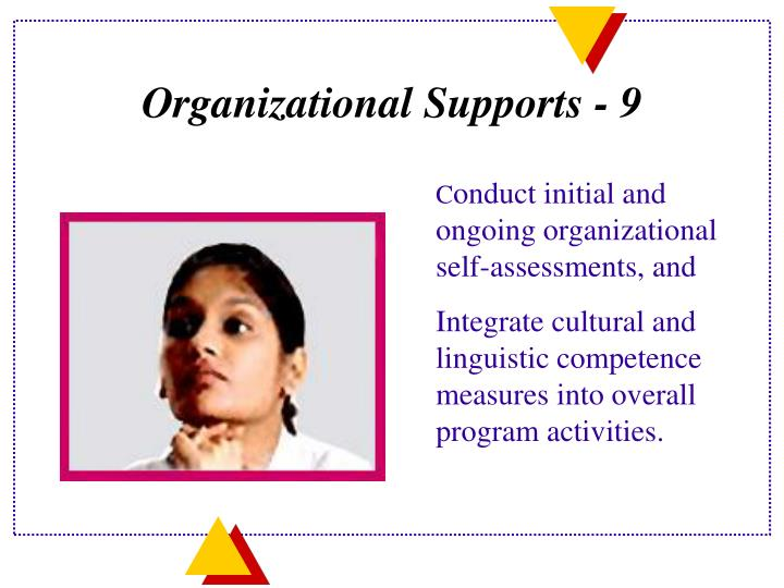 Organizational Supports -