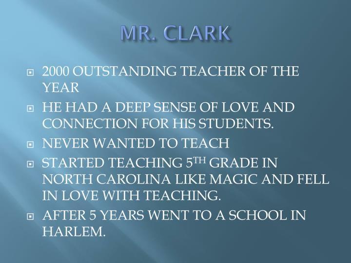 MR. CLARK