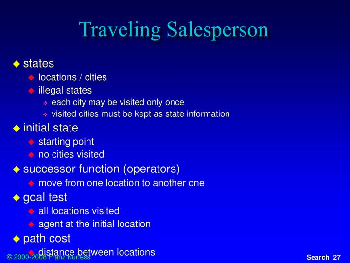 Traveling Salesperson